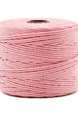 Nylon S-londraad 0,6 mm vintage roze (10m)