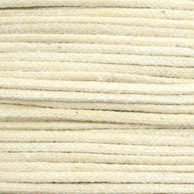 Waxkoord katoen 0.5 mm metallic zand beige (5m)