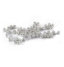 Knijpkraal DQ antiek zilver 2 mm (37x)