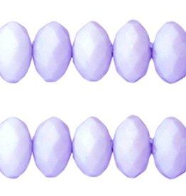 Acryl facetkraal lavendel (30x)