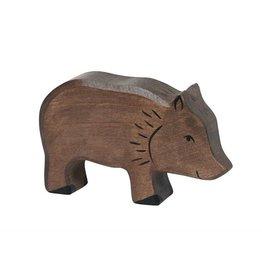 Holztiger Wild zwijn van hout