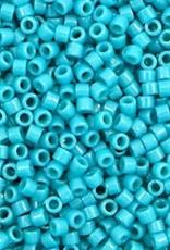 Miyuki delica's 11/0  turquoise blauw (5gram)