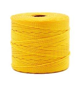 Nylon S-londraad 0,6 mm goudgeel (10m of klos)
