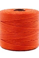 Nylon S-londraad 0,6 mm oranjerood (10m)