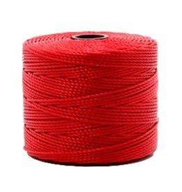 Nylon S-londraad 0,6 mm rood (10m)