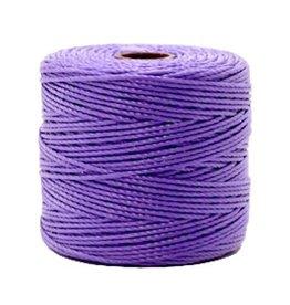 Nylon S-londraad 0,6 mm lavendelpaars (10m)