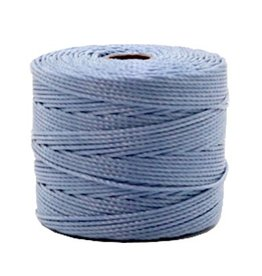 Nylon S-londraad 0,6 mm grijsblauw (10m)