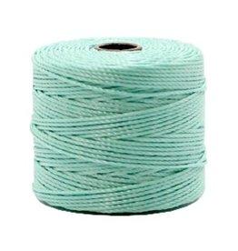 Nylon S-londraad 0,6 mm frans groen (10m)
