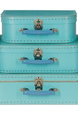 Mechato Koffer lichtblauw (set of los)