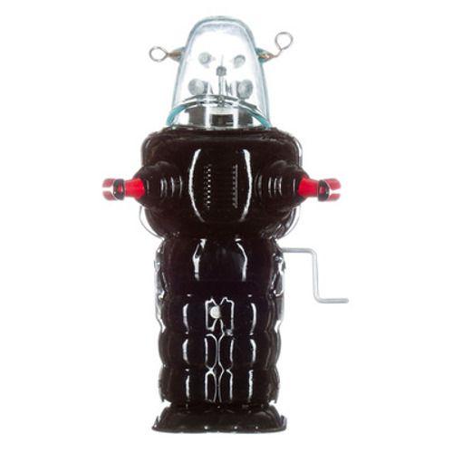 Mechato Vintage Robot spacetrooper klein zwart