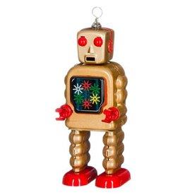 Mechato Vintage Robot goud radar wiel