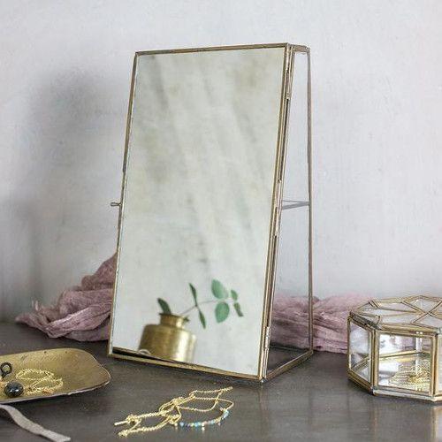 Nkuku Bequai spiegel kabinet antiek koper