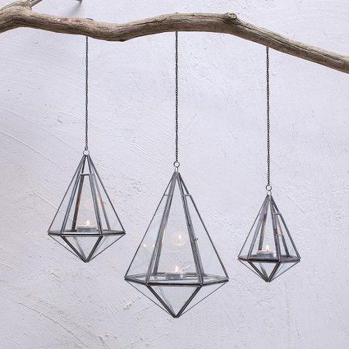 Nkuku Kokomo hangende lantaarn zink