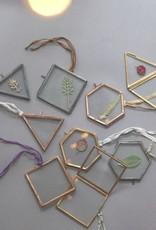 Nkuku Kiko minilijstjes antiek koper
