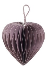 Nordal Honeycomb hart paars
