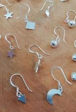 Sterling zilveren oorbellen belletjes