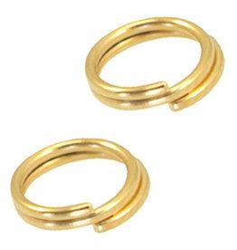 DQ splitring goud