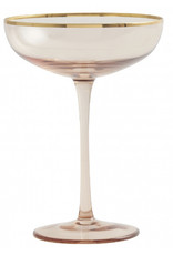 Nordal Cocktailglas gouden rand (2x)