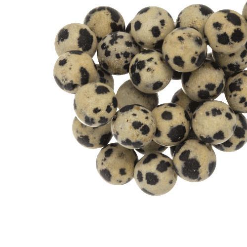 Ronde kraal dalmatier jasper 4 mm (10x)