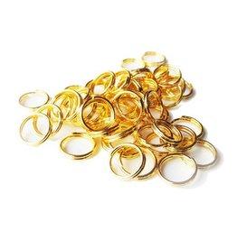 Splitring goud
