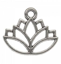 Bedel lotus zilverkleurig (1x)