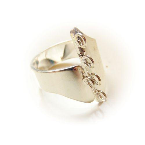 Ring met rijgogen II - (bulk 15x)