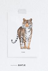 Meesie & Bintje Kaart tijger