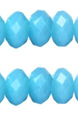 Acryl facetkraal neon blauw (30x)