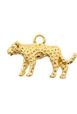 Bedel luipaard goudkleurig