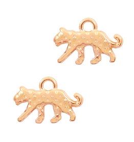 DQ bedel luipaard rose goud