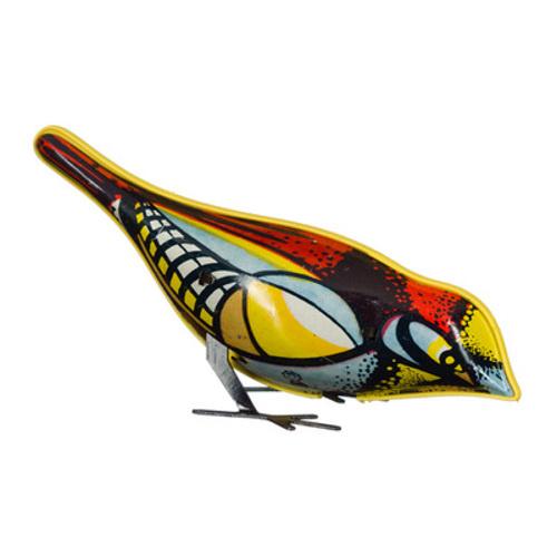Mechato Oude russische opwindvogel van blik