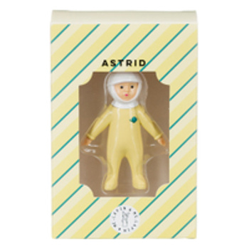 Lapin&Me  Retro popje astronaut geel