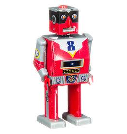 mechato Laser robot rood, H15 cm
