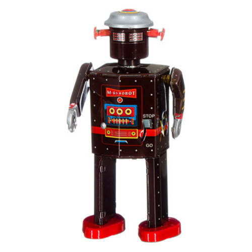 mechato Robot Atomic man donkerbruin