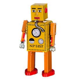 mechato Robot lilliput geel oranje 12,5 cm