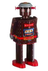 mechato Robot Atomic man donkerbruin XL