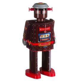 Mechato Robot Atomic man donkerbruin XL