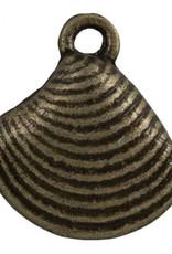 Bedel schelp brons (1x)