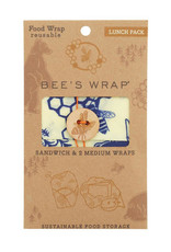 Bee's wrap Bee's wrap - Bears & bee's lunchpack (3x)