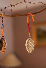 Nkuku Spiegelhangers leaf