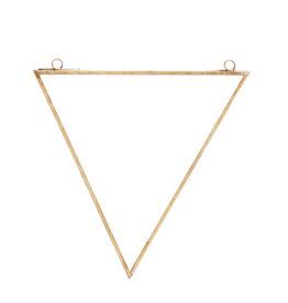 Madame Stoltz Muurspiegel goud driehoek