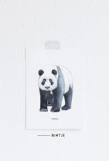 Meesie & Bintje Kaart panda