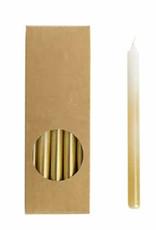 Rustik Lys Potloodkaarsjes goud wit