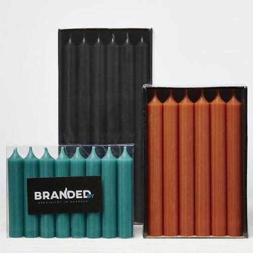 Branded by Korte dinerkaarsjes turquoise