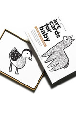 Wee Gallery Art-Cards for baby's babydieren