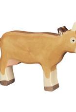 Holztiger Houten koe bruin