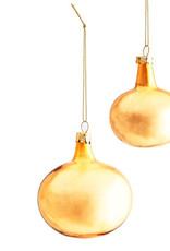 Madame Stoltz Gouden glazen ballen