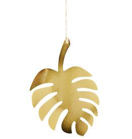 Madame Stoltz Hanger blad goud glanzend