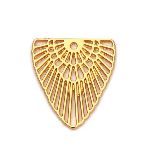 Bedel bohemian driehoek goud (1x)