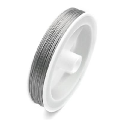Gecoat staaldraad / metaaldraad 0,38 mm (100m)